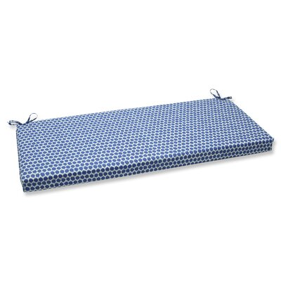 Eris Outdoor Bench Cushion Fabric: Navy