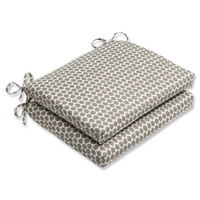 Eris Outdoor Seat Cushion Fabric: Sterling