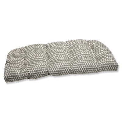Eris Outdoor Loveseat Cushion Fabric: Sterling