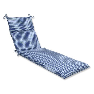 Eris Outdoor Chaise Lounge Cushion Fabric: Navy