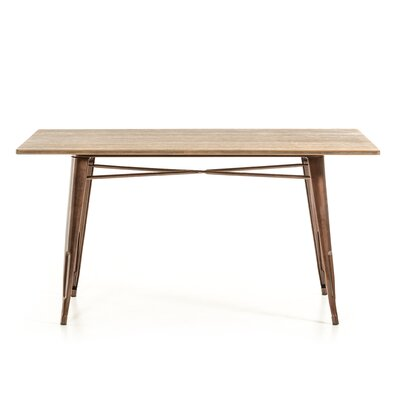 Lipscomb Dining Table Base Finish: Copper
