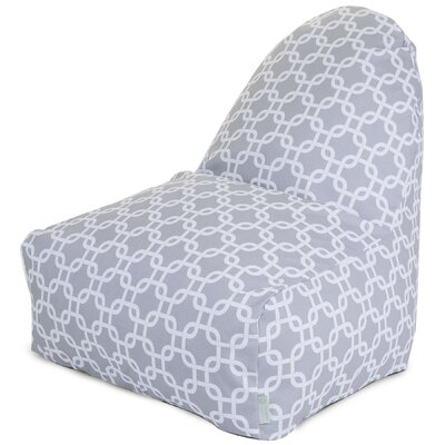 Banas Bean Bag Lounger Upholstery: Gray