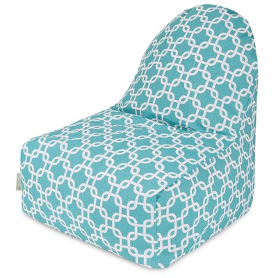 Banas Bean Bag Lounger Upholstery: Teal