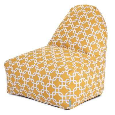 Danko Bean Bag Lounger Upholstery: Yellow
