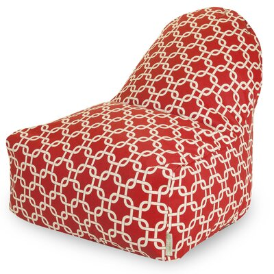 Danko Bean Bag Lounger Upholstery: Red