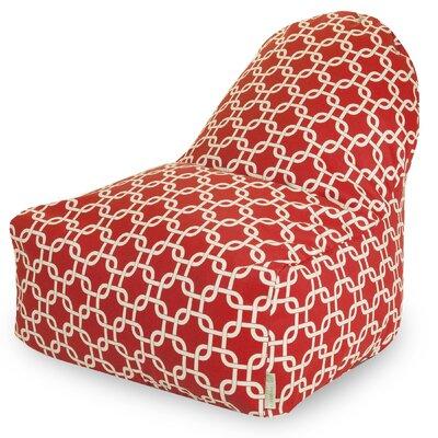 Danko Bean Bag Lounger Upholstery: Red