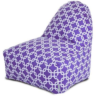 Banas Bean Bag Lounger Upholstery: Purple