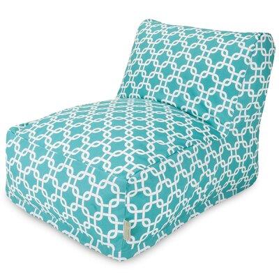 Banas Bean Bag Lounger Upholstery: Teal