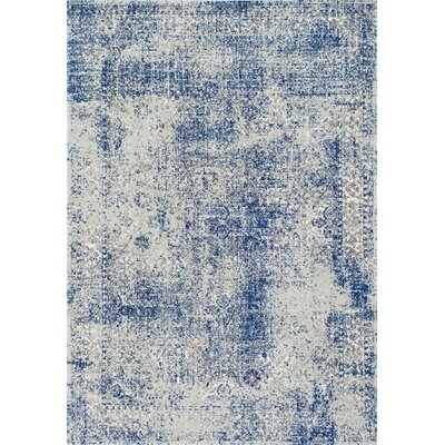 Citium Blue Area Rug Rug Size: Rectangle 5 x 75
