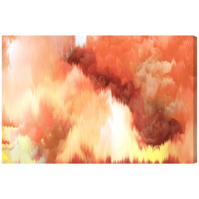 Vivanti Tangerine Painting Print on Wrapped Canvas
