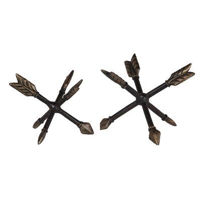 2 Piece Decorative Arrow Jacks Set