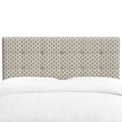 Coalmont Tufted Panel Headboard Size: King