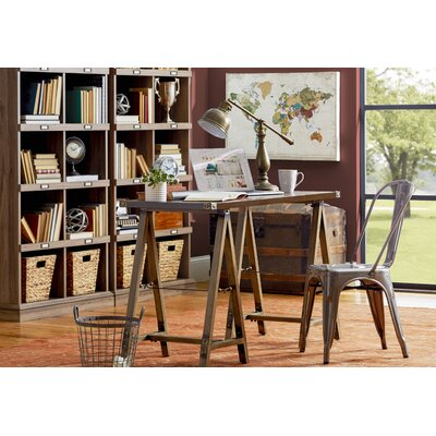 Earleville Sawhorse Writing Desk