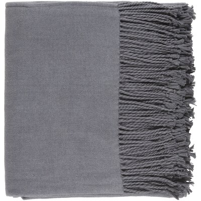 Edison Park Throw Color: Charcoal