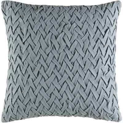 Ehrenfeld Facade Cotton Pillow Cover Size: 18 H x 18 W x 1 D