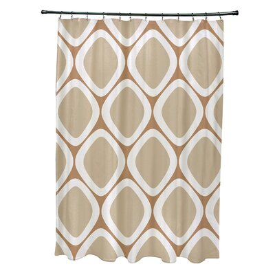 Schacher Geometric Shower Curtain