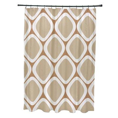 Schacher Geometric Shower Curtain
