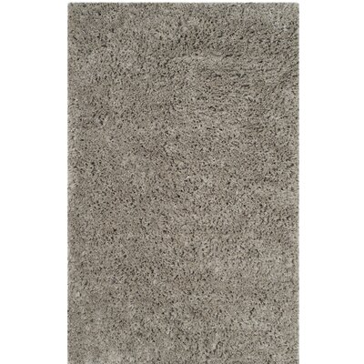 Elborough Hand-Tufted Gray Area Rug Rug Size: 4 x 6
