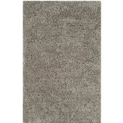 Elborough Hand-Tufted Gray Area Rug Rug Size: 5 x 8