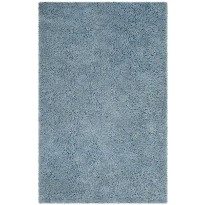 Elborough Hand-Tufted Blue Area Rug Rug Size: Rectangle 4 x 6