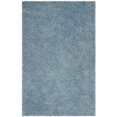 Elborough Hand-Tufted Blue Area Rug Rug Size: 4 x 6