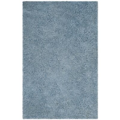 Elborough Hand-Tufted Blue Area Rug Rug Size: 5 x 8