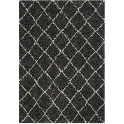 Elbridge Black Area Rug Rug Size: Square 67