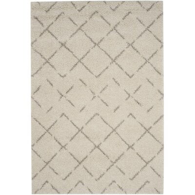 Barcia Beige Area Rug Rug Size: Rectangle 9 x 12