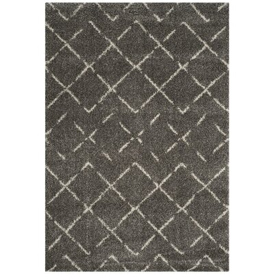 Barcia Brown Area Rug Rug Size: Rectangle 4 x 6
