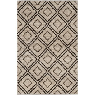 Electra Beige Area Rug Rug Size: Rectangle 4 x 6