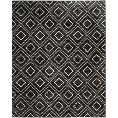 Electra Black Area Rug Rug Size: Rectangle 9 x 12