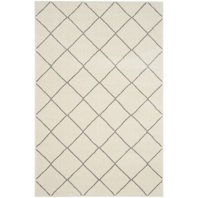 Electra Beige Area Rug Rug Size: Rectangle 3 x 5
