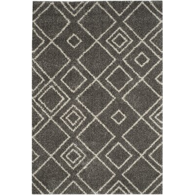 Elbridge Brown Area Rug Rug Size: 3 x 5