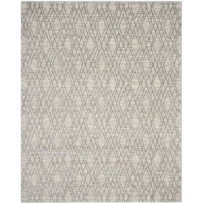 Electra Ivory/Light Gray Area Rug Rug Size: Rectangle 8 x 10
