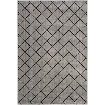 Electra Gray Area Rug Rug Size: Rectangle 51 x 76