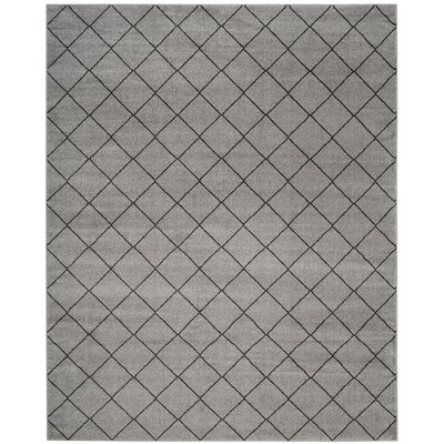 Electra Gray Area Rug Rug Size: Rectangle 9 x 12