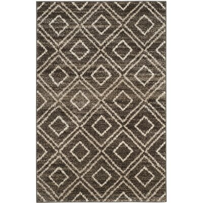 Electra Brown Area Rug Rug Size: Rectangle 3 x 5