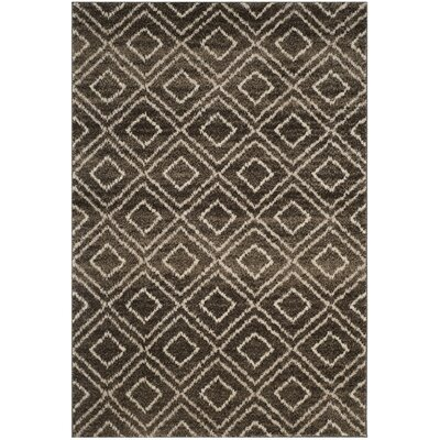 Electra Brown Area Rug Rug Size: 51 x 76