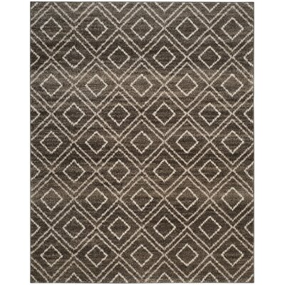 Electra Brown Area Rug Rug Size: Rectangle 9 x 12