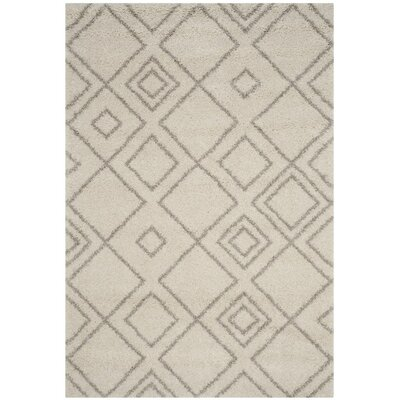 Elbridge Beige Area Rug Rug Size: Rectangle 9 x 12