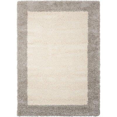 Emesa Ivory/Gray Area Rug Rug Size: 311 x 511