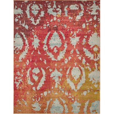 Endymion Red Area Rug
