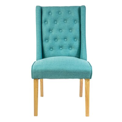 Epicurus Dining Chair Color: Teal