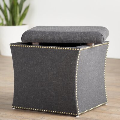 Goldsberry Nail Button Storage Ottoman