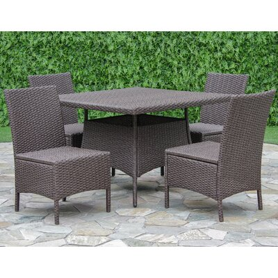 Fortenberry 5 Piece Dining Set