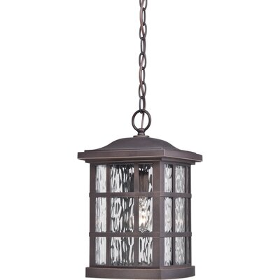 Lockett 1-Light Outdoor Hanging Lantern