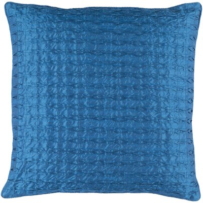 Morillo Pillow Cover Size: 22 H x 22 W x 0.25 D, Color: Blue