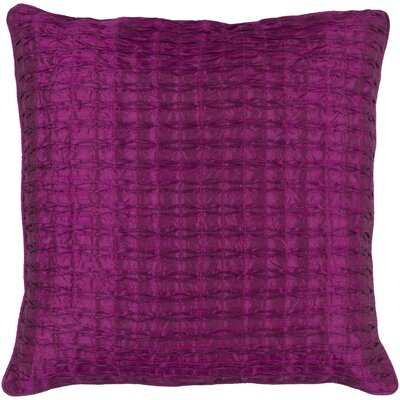 Morillo Pillow Cover Size: 20 H x 20 W x 1 D, Color: Purple