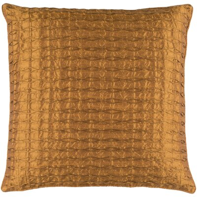 Morillo Throw Pillow Cover Size: 22 H x 22 W x 0.25 D, Color: Orange