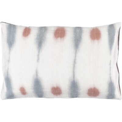 Morford 100% Cotton Lumbar Pillow Cover Color: NeutralGray
